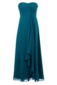 Teal Bridesmaid Dress | Teal and Scarlet Wedding | Pinterest