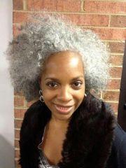 grey gorgeous natural hair