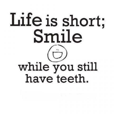 Inspirational Quotes About Teeth. QuotesGram