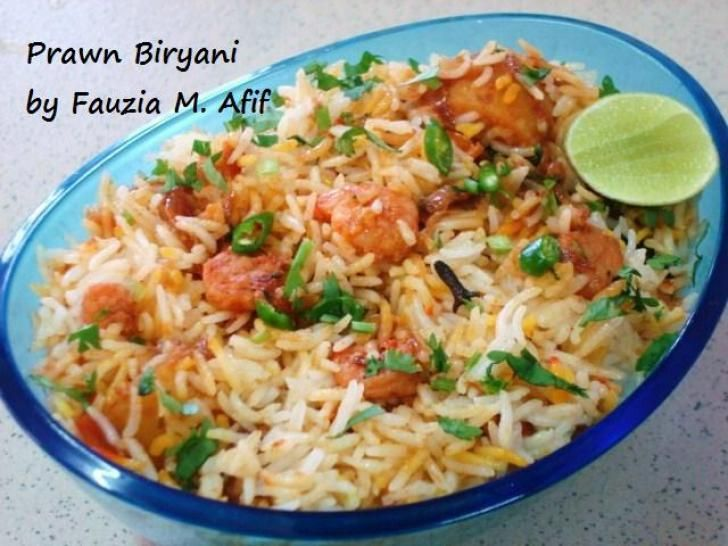 Shrimp Biryani Recipe  Dishmaps