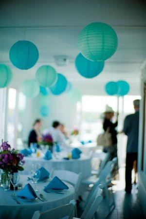Paper Lanterns - weddings