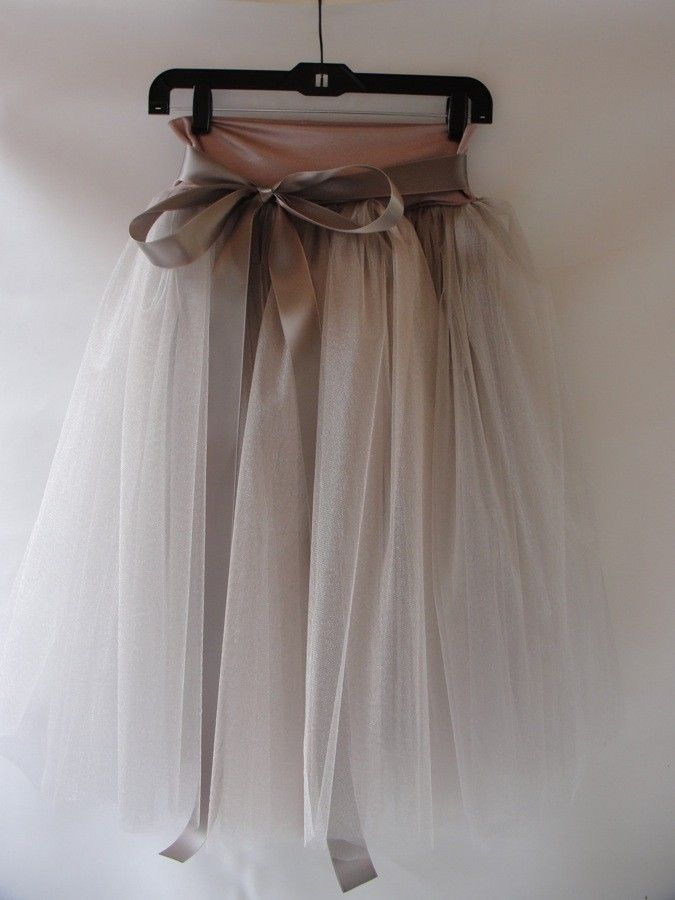 Beautiful tulle skirt - want to make!