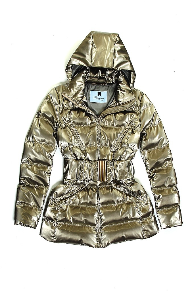 Fall 2012 Trend: The Right Puff  (Blumarine's polyester, polyurethane and nylon coat.)