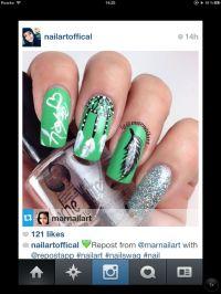 Native American abstract design nail art | Nail Art ...