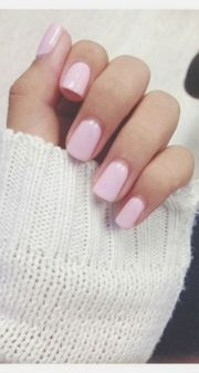 natural pink nails monstylish