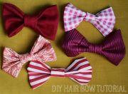 make hair bows #diy