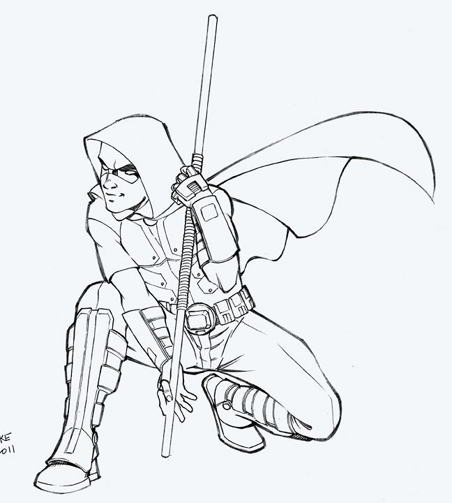 Young Justice Robin Help
