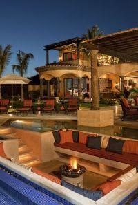 Backyard luxury | Outdoor Spaces | Pinterest