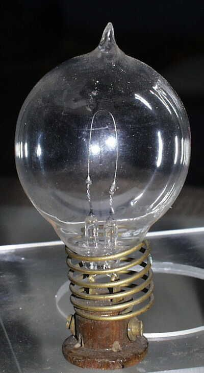 Thomas Alva Edison Light Bulb Invention