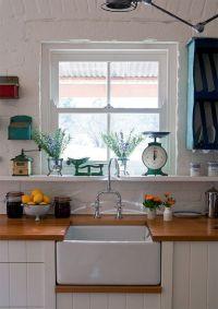 country cottage kitchen   Cozy Kitchens   Pinterest