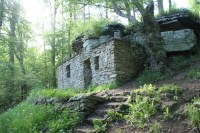 House built into the mountain, Sweden | Historic Items ...