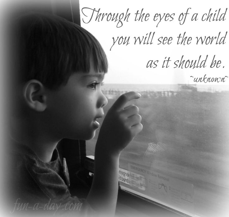Image result for looking through a child's eyes