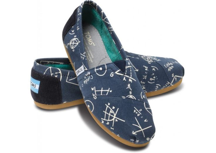 Navy Geometry Women's Vegan Classics | TOMS