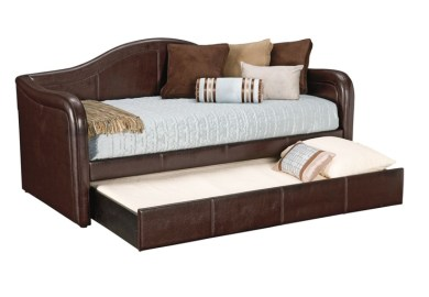 Carey Brown Twin Daybed With Trundle Value City Furniture