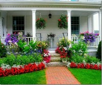 A beautiful front porch.