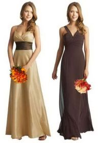 fall bridesmaid dresses | Wedding Ideas | Pinterest