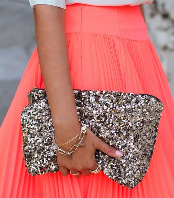 Sequined Clutch Bag from stylebymarina