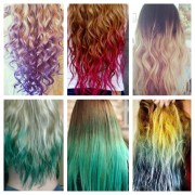 hair color long hairstyles