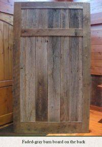 Sliding Barn Doors: Reclaimed Wood Sliding Barn Doors