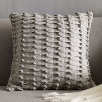 Gray Knotted Felt Pillow Cover, West Elm | For the Home ...
