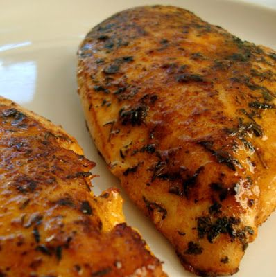 Garlic-Lime Chicken -This is one of my favorite chicken recipes! The spices are perfect – I would not change a thing, So easy and so tasty. I like it as part of my dinner with veggies and a pasta side or I make extra to cut up and put in a salad for lunch. It's seriously amazing!