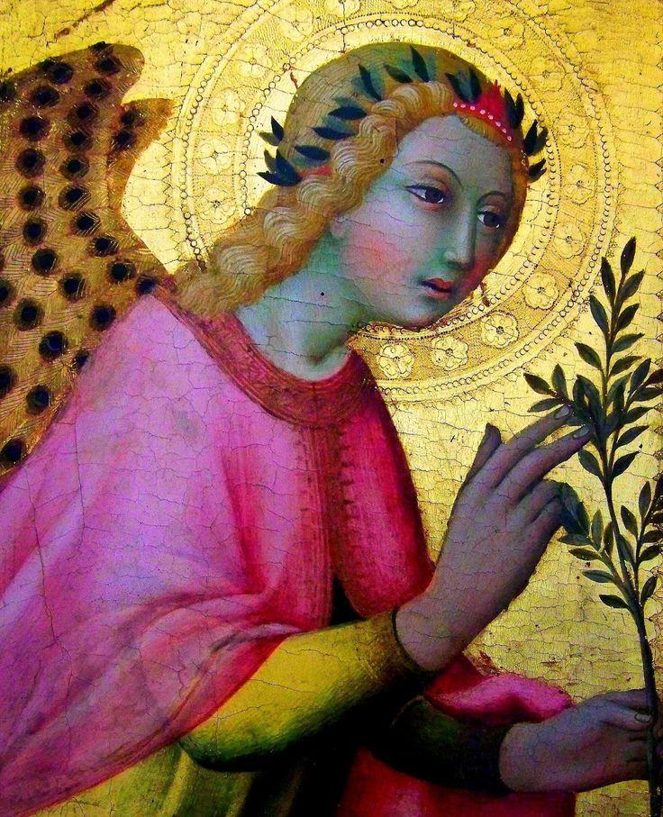 Sano di Pietro : L'Ange de l'Annonciation