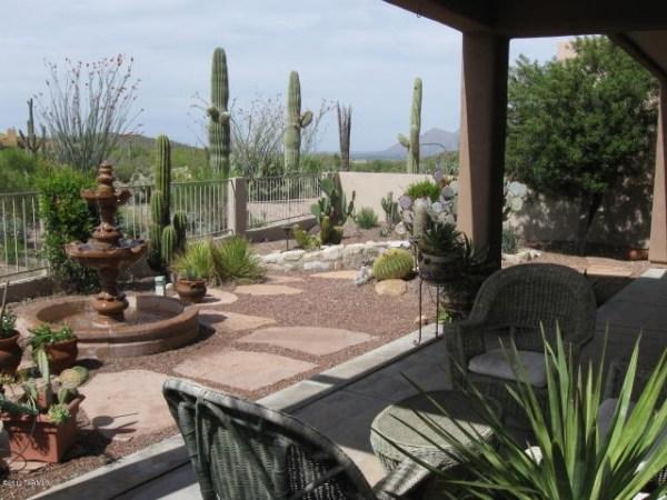 xeriscape desert landscaping