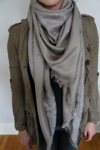 louis vuitton monogram shawl | Stunning Clothes | Pinterest
