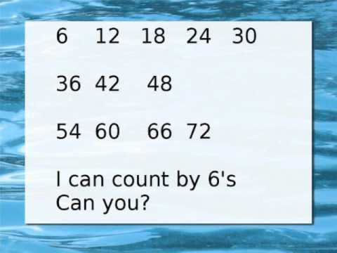 Counting by 6s   CC--Cycle 1   Pinterest