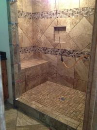 Custom 5x7 shower | Bathroom Design | Pinterest