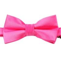 Hot Pink Bow Tie | Australian Designer Bow Ties | Handmade ...