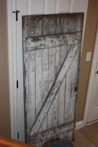 Barn Door as wall art | Home Sweet Home | Pinterest