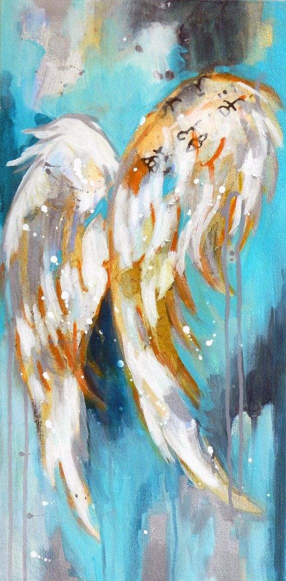 Image Result For Acrylic Paintings Of Angel Wings