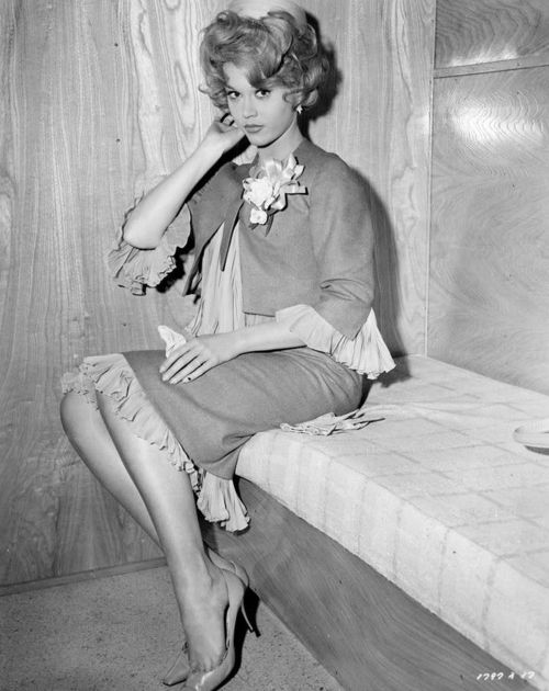 A compelling Jane Fonda in the 60'