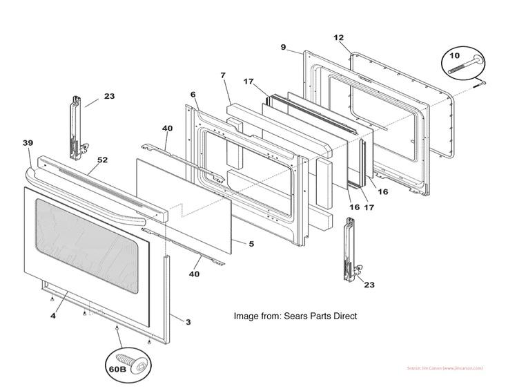 Ge Oven: Replacement Glass For Ge Oven Door