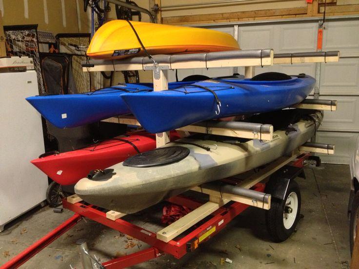 trailer racks for kayaks lovequilts