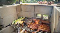 diy cinderblock pizza oven/grill | Backyard Garden ...