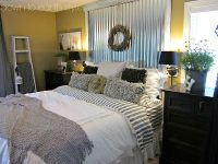 Like the corrugated metal headboard | For the Home ...