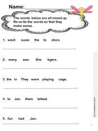Language Arts Activities | Language Arts: General | Pinterest