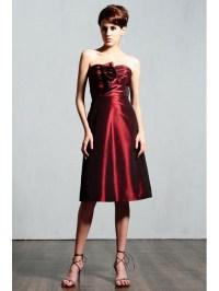 wine colored short bridesmaid dress | Bridesmaid and ...