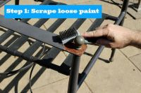 Painting Metal Patio Furniture | stuff for the home ...