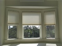 Bay window shades | Our Home | Pinterest