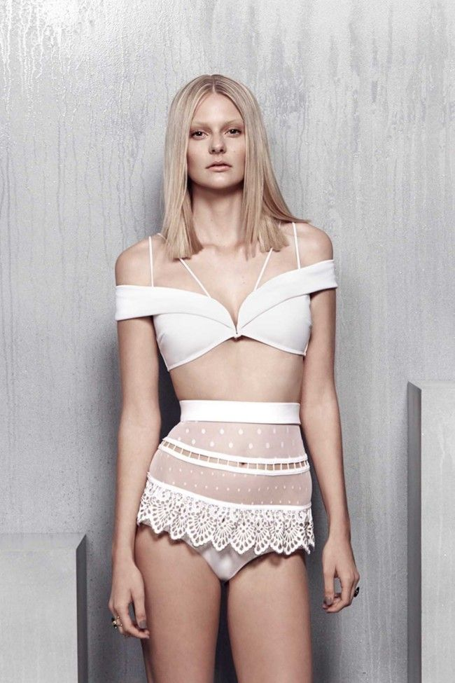 Zimmermann White Bikini Resort 2015