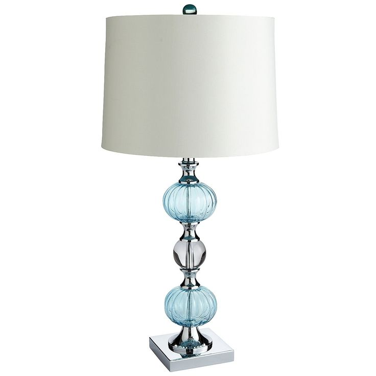 Pier 1: Aqua Bubble Table Lamp
