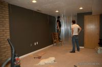 How To Install A Corrugated Metal Accent Wall