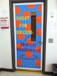 March Madness themed classroom door | Teaching Ideas ...
