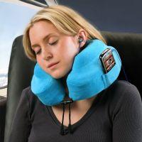 Memory Foam Travel Neck Pillow   Travel Tips   Pinterest