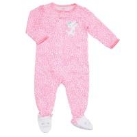 1-Piece Jersey Pj's   Baby Girl Pajamas   Ava Kathleen's ...