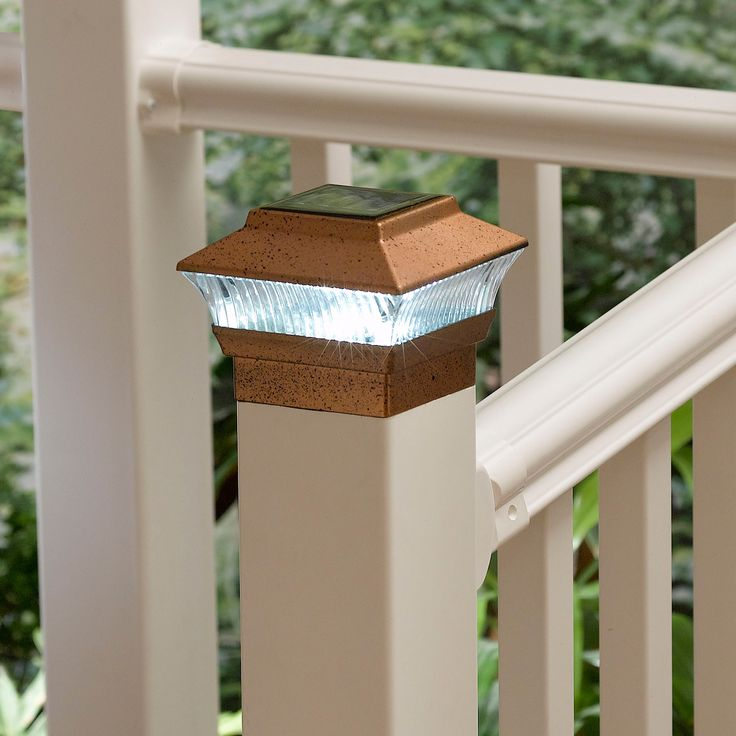 Solar Powered Post Lights Outdoors