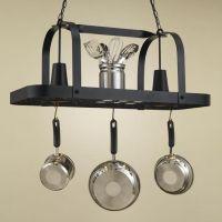 Baker Collection Hanging Pot Rack | www